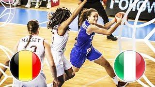 Belgium v Italy - Full Game - FIBA U18 Women