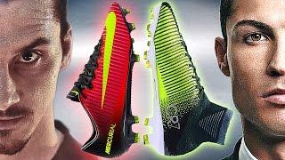 Ibrahimovic VS Ronaldo - Boot Battle: Nike Mercurial Vapor XI vs Superfly V Test & Review