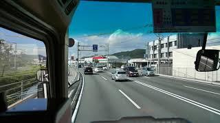 【前面展望】福山駅~道の駅世羅~三次駅【中国バス・きんさいライナー】