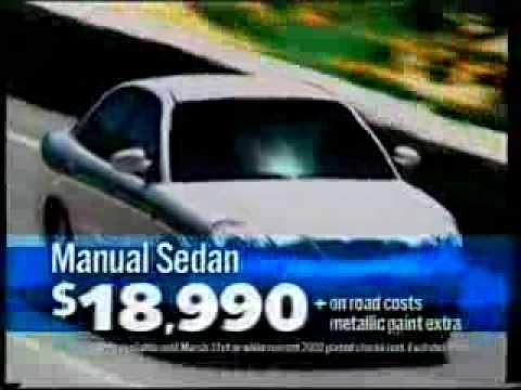 GM Daewoo Australia Commercial (2002) - YouTube