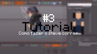 Cinema 4D Tutorial: Como fazer Run Cycle - (Minecraft Animation) 2017