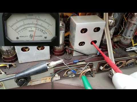 Nordmende Caruso Console Radio Phonograph Repart Pt3