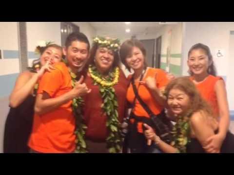 Hawaii loa hula competition 2014 コンペ当日