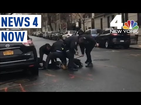 NYPD Officers Caught on Camera Beating Men With Batons | News 4 Now