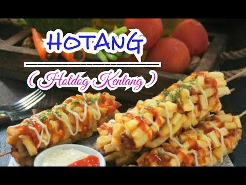 Resep Cara Membuat Hotang Hotdog Kentang Praktis Sederhana Kekinian