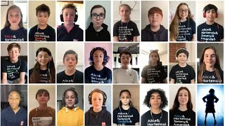 "Class of 19/20 perform ""When I Grow Up"" 