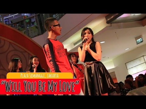 Cherrybelle - Will You Be My Love  [LIVE] at Plaza Semangi