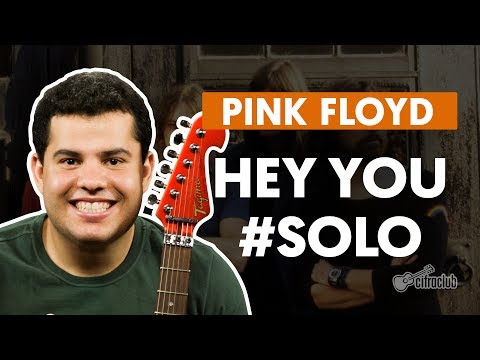 Hey You - Pink Floyd (How to Play - Guitar Solo Lesson)