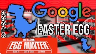 Google Easter Egg T-Rex Mini Game - The Easter Egg Hunter