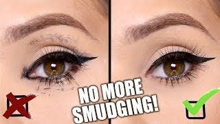 STOP Eyeliner & Mascara SMUDGING | 8 SIMPLE TRICKS / BEAUTY HACKS
