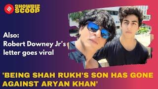 'Being Shah Rukh's Son Has Gone Against Aryan Khan', Robert Downey Jr's Letter Goes Viral