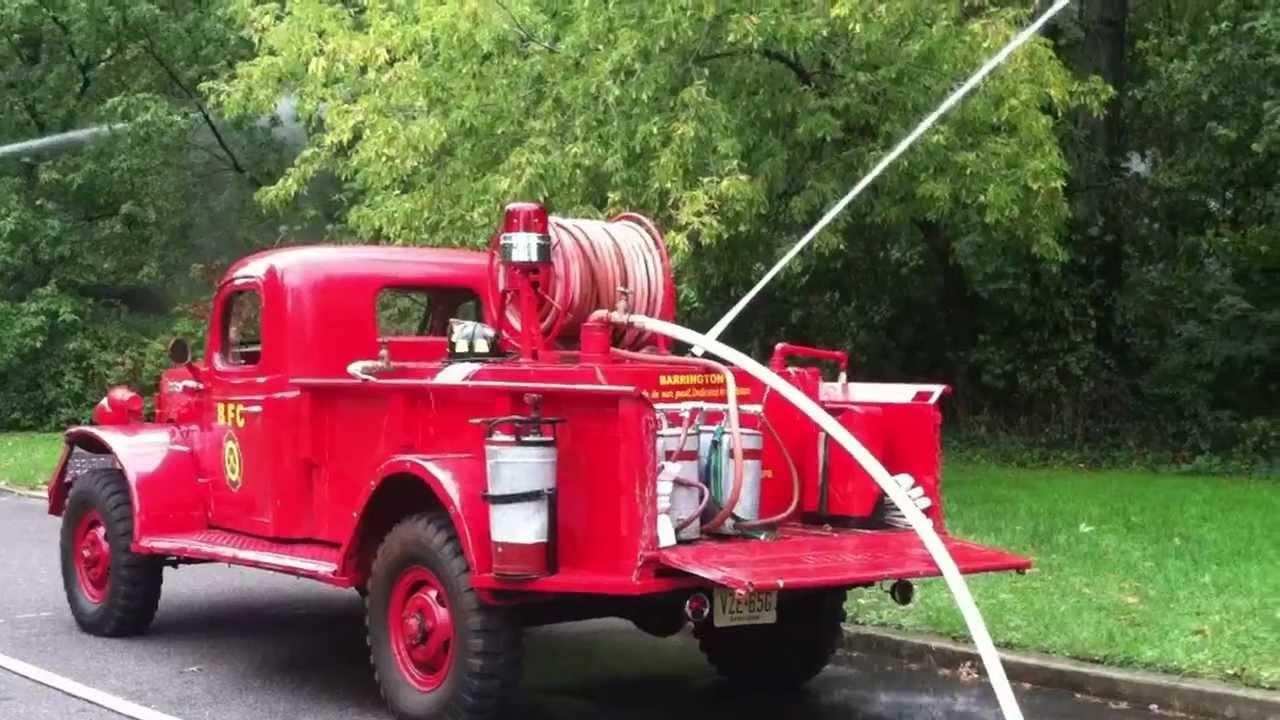 Faunce 1949 Dodge Powerwagon Pumping 1 Power Wagon Crew Cab