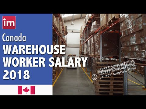 Warehouse Worker Salary In Canada (2018) - Jobs In Canada