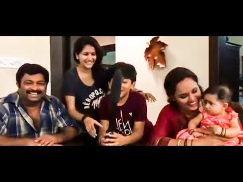 നീലുവാകാൻ നിഷയെത്തി | Nisha Sarang joins Uppum Mulakum |  Locaton Video