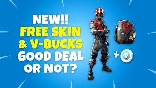 New Best Deal in Fortnite?! - Wingman Skin + Bonus V-Bucks