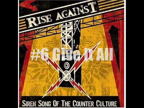 My Top 10 Rise Against Songs