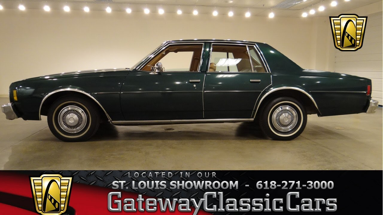 1977 Chevrolet Impala Gateway Classic Cars St Louis #6324 - YouTube