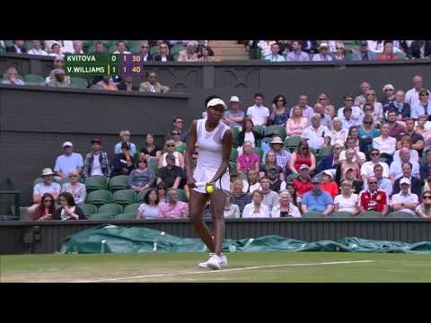 Wimbledon 2014, Ladies' Singles, 3rd Round, Kvitova vs V Williams