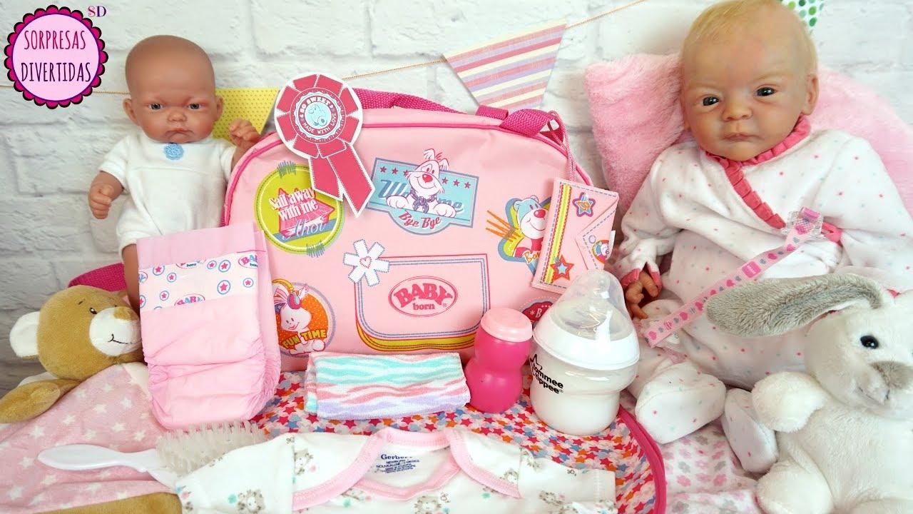 La Pañalera de mi bebé Reborn Bolso para muñecas bebés de juguete ...