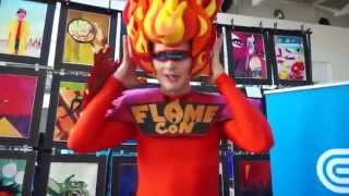 Con Edison Unveils Comic Book about Gas Safety at Flame Con