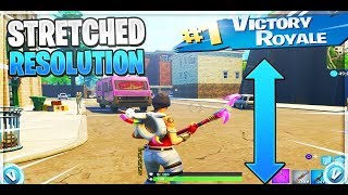 How to get Stretch Resolution In Fortnite and the difference