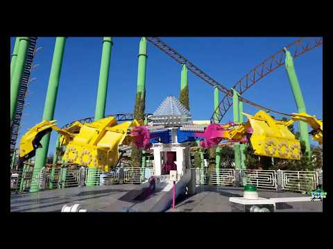 Adventure Island Southend 2018 ride compilation 4K - UK Theme Parks