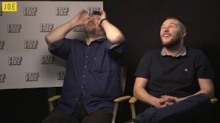 Jack Reynor & Ben Wheatley on Free Fire, blinding people & ladies with pump action shotguns