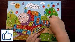 Поделка Паровозик Томас! Видео для детей! Детский канал Danya Boy!(Даня с мамой делают поделку с паровозиком Томасом, в этой детской поделке нужно наклеивать цветные камешки..., 2016-01-18T08:08:15.000Z)