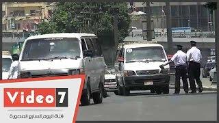 حملة مرورية على طريق الكورنيش بالتزامن مع احتفالات شم النسيم