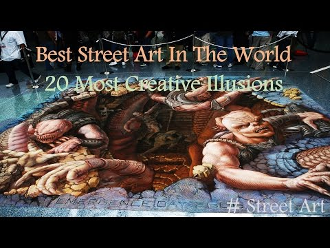 ✔ Best Street Art In The World: 20 Most Creative Illusions