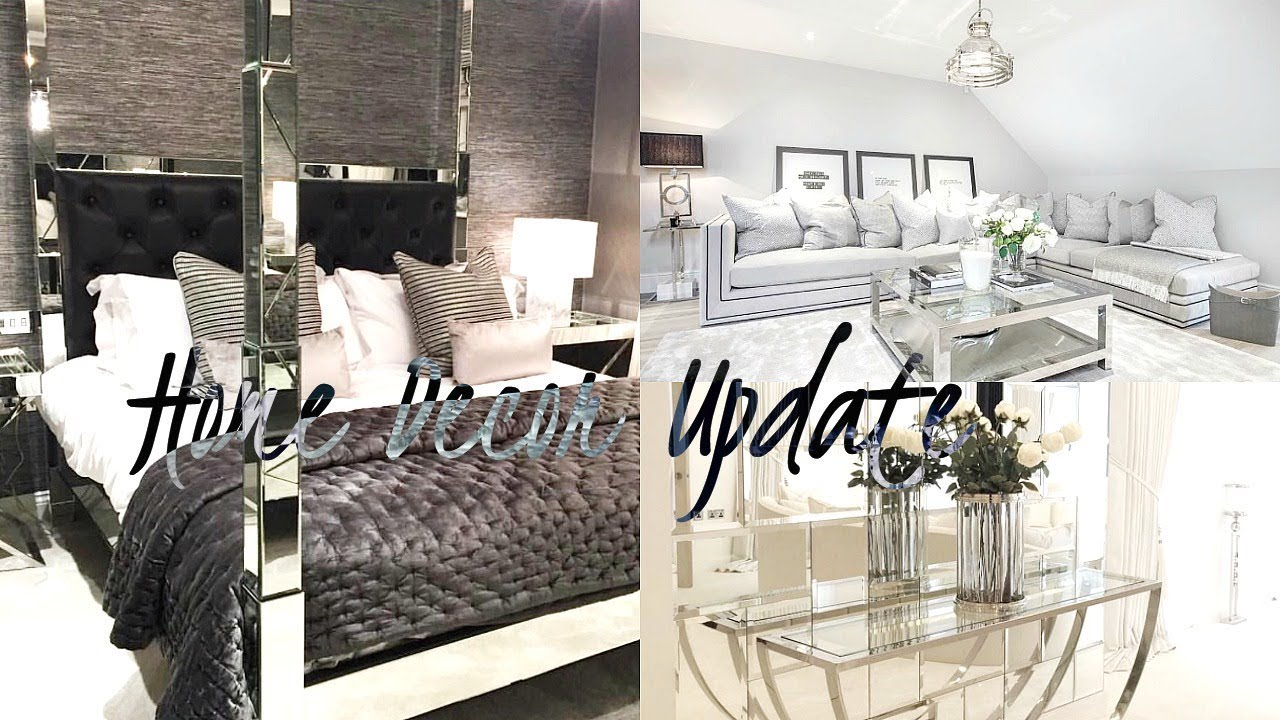 HOME DECOR UPDATE! LIVING ROOM, DINING AREA & BEDROOM INTERIOR ...
