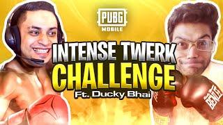 FUNNIEST TWERK CHALLENGE WITH DUCKY BHAI - 3 RP GIVEAWAY - PUBG MOBILE