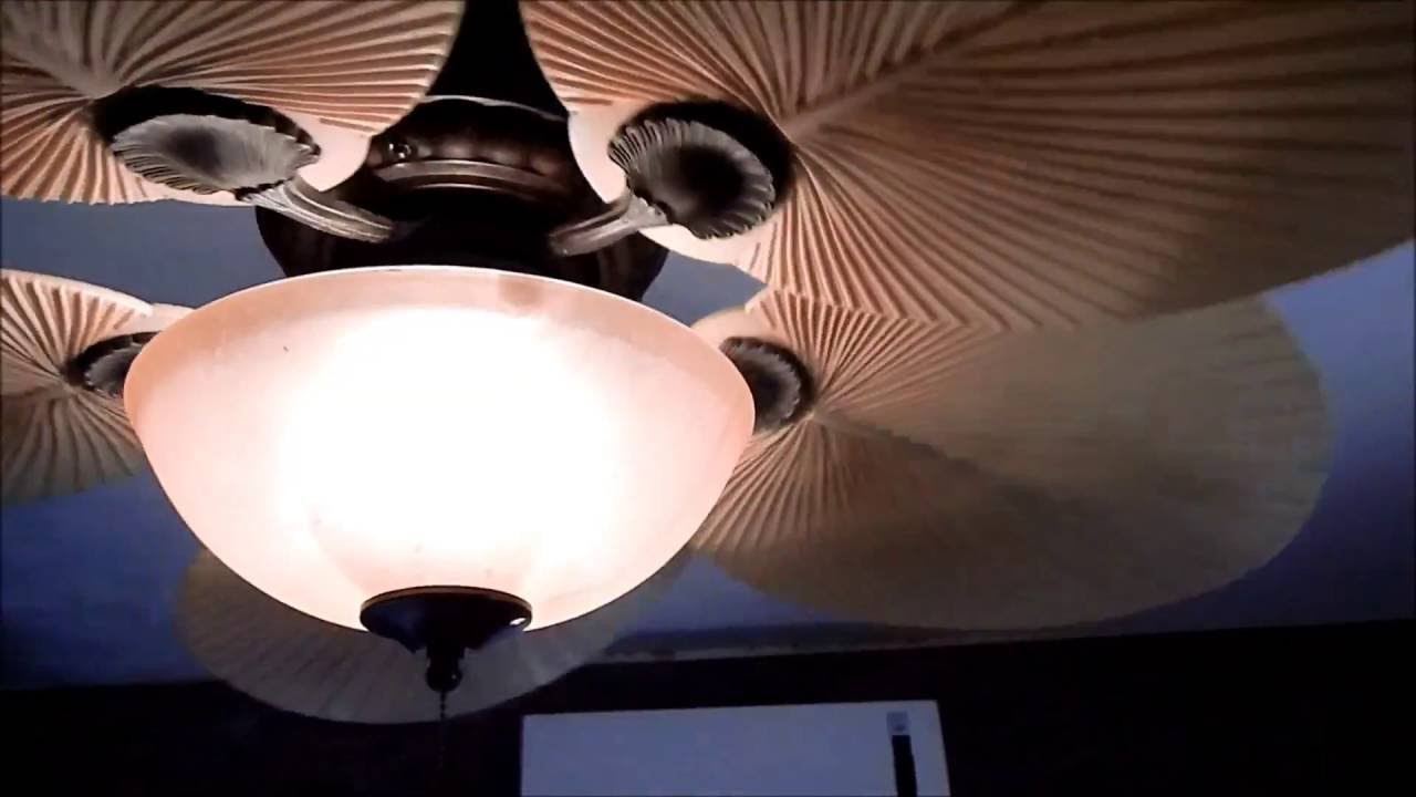 How To Fix A Ceiling Fan That Wobbles Very Bad Youtube