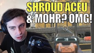 SHROUD ▪ Gets Carried By 2 Pro Apex Players MOHR + ACEU【APEX LEGENDS Season 3】