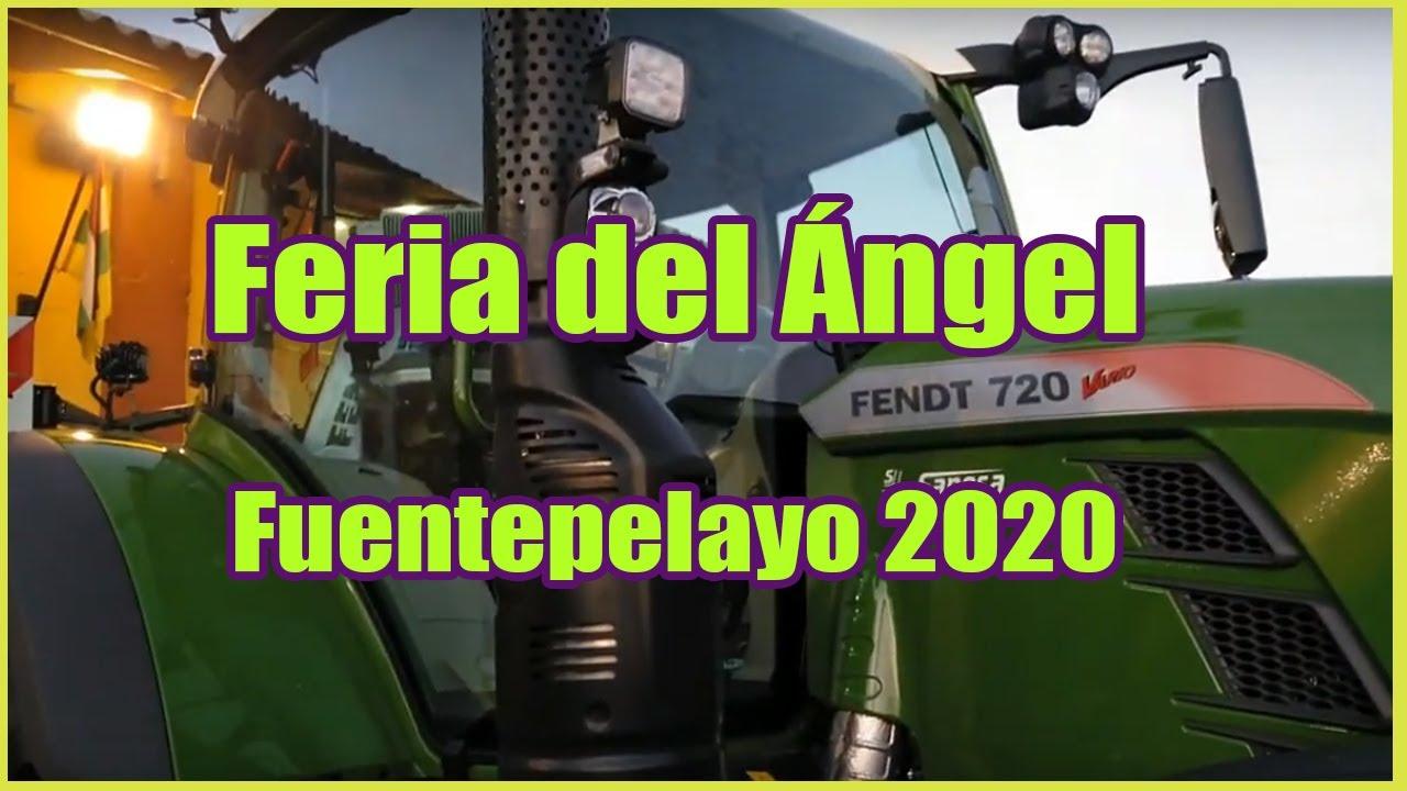 Feria Del ángel De Fuentepelayo Segovia 2020 Youtube