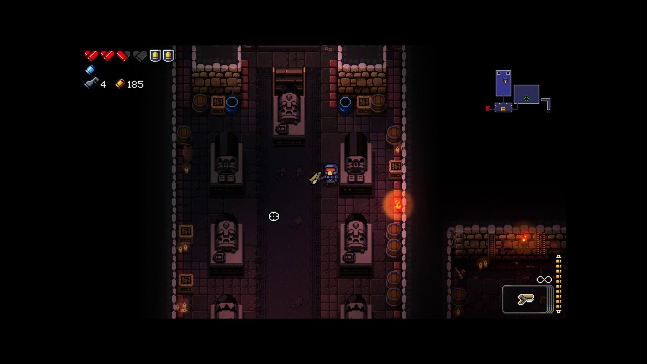 How To Access Secret Floor 2 Of Enter The Gungeon Youtube