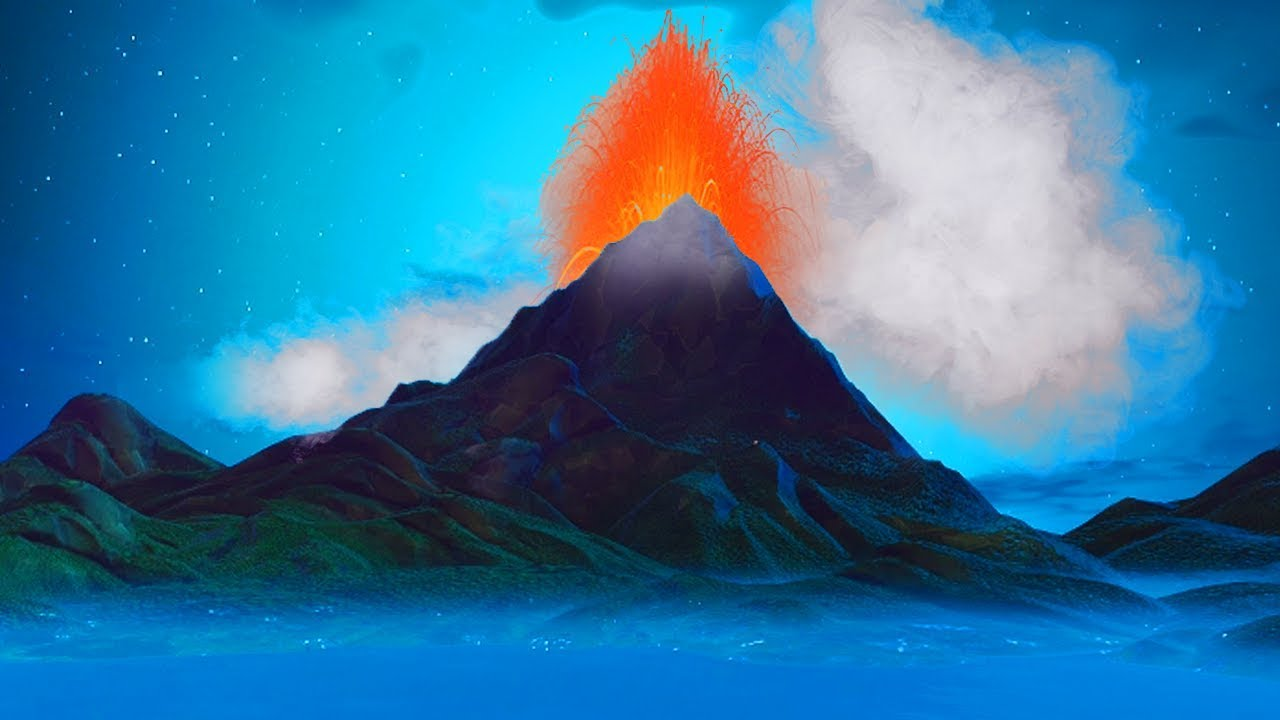 New The Volcano Is Erupting Fortnite Fire King Prisoner Storyline