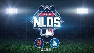 10/9/15: deGrom's 13 K's lead Mets to 1-0 series lead