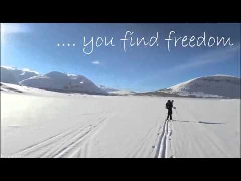 Amazing Outdoor Life - Skiing in Sarek, Sweden