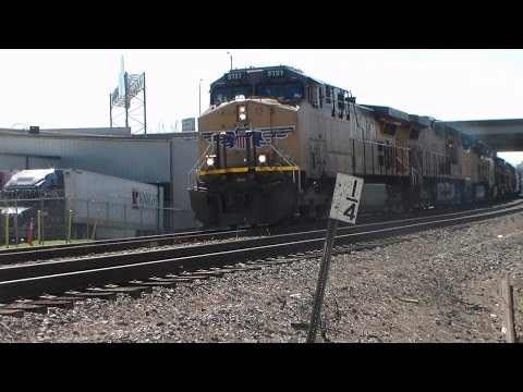 Railfanning KCS & UP in Monroe, Louisiana