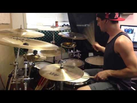 Dustin Moore - born of Osiris - the takeover - drum cover