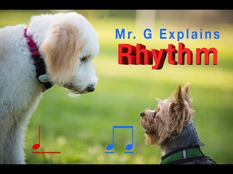 Rhythm  = Long and Short Sounds
