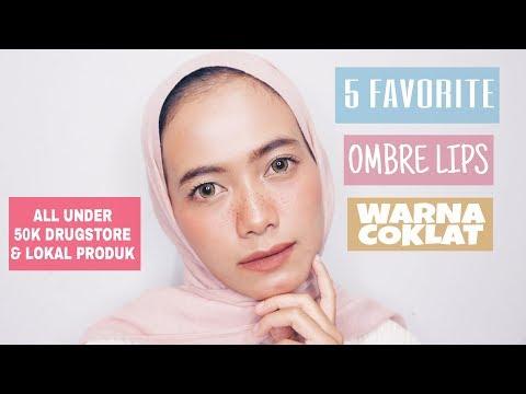 [rekomendasi]-5-ombre-lips-warna-coklat