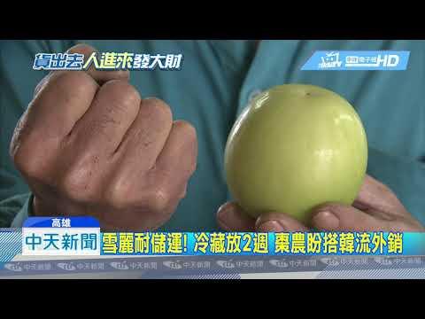20190123中天新聞 超甜「雪麗」蜜棗新品種 單顆要價100元