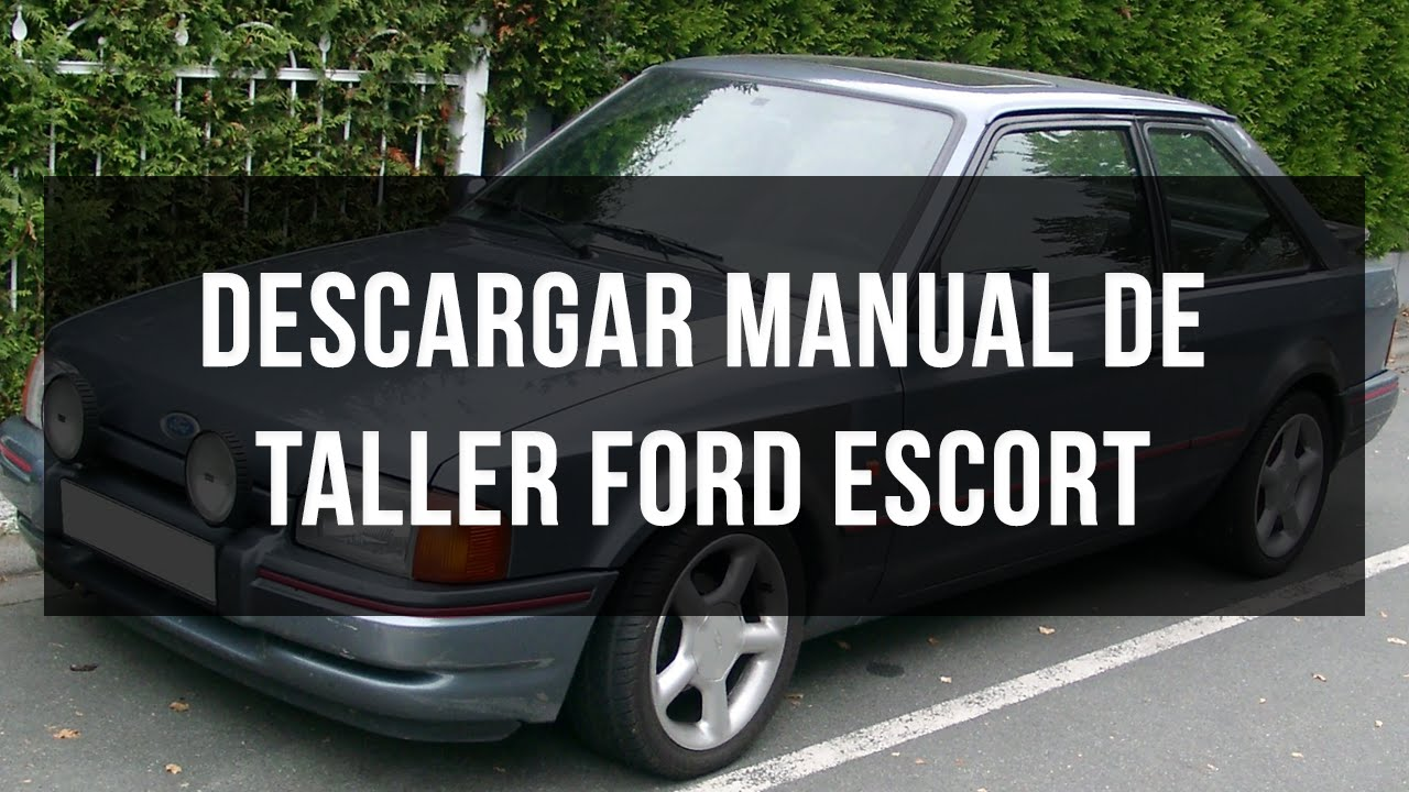 MANUAL DE TALLER FORD ESCORT 18TD 1999 ESPO
