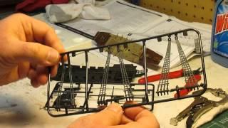 Revell 1/350 Black Diamond Pirate Ship Model Kit Build Up Part 1