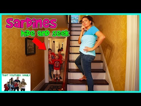 SARDiNES Hide And Seek In Famous Generals House / That YouTub3 Family Family Channel
