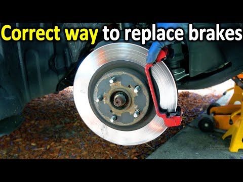 How to Replace Brake Pads and Rotors in your car ( The Correct Way )