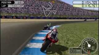 Moto GP - Gameplay PSP HD 720P (Playstation Portable)