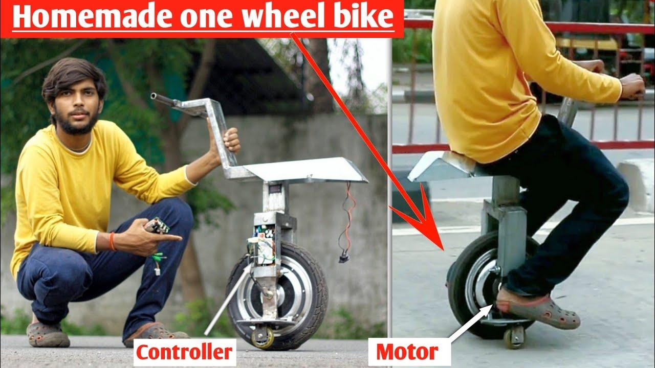 How to make Self-balancing one wheel electric bike at home